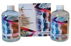 ART RESIN 32 OZ KIT Crystal Clear Epoxy Resin Art and DIY Art Resin for Craft. $29.99