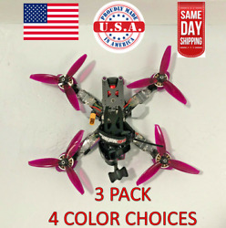 3 PACK Wall Mount Quadcopter FPV Drone Wall Mount 3D Printed PLA $10.00