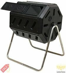 FCMP Outdoor IM4000 Tumbling Composter 37 gallon Black $117.61