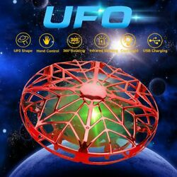 Hand Operated Mini Drones for 6 7 8 9 10 Years Old Kids Hands Free Flying UFO $15.95