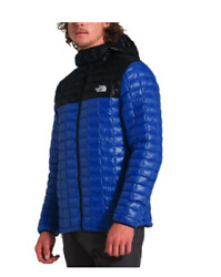 THE NORTH FACE THERMOBALL ECO HOODIE TNF Blue Black: MSRP $220 NWT $129.00