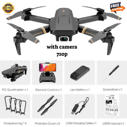 FPV Wifi Drone HD Camera Aircraft Foldable Quadcopter Selfie Toy Trajectory Flip $35.80