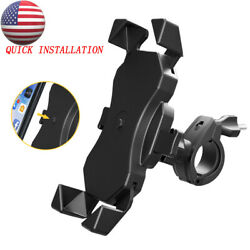 Bicycle Motorcycle MTB Bike Handlebar Mount Holder Adjustable for Cell Phone GPS $10.99