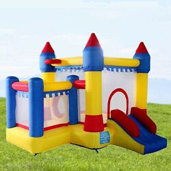 Bounce House Inflatable Castle Kids Jumper Moonwalk Without Blower Commercial $199.99