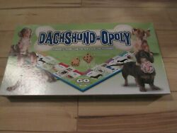 DACHSHUND OPOLY GENTLY USED COMPLETE LATE FOR THE SKY GAME $13.95