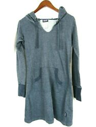 Patagonia Womens Hooded Beach Bathing Suit Cover Up Size XS Blue Extra Small $20.24