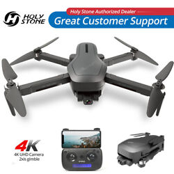 Holy Stone Drone Quadcopter with 4K Video Camera 2 Axis Gimbal Active Track Case $165.99