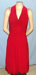 Absolutely Gorgeous amp; Chic Evan Picone Burgundy Cocktail Dress Size 6 $20.99