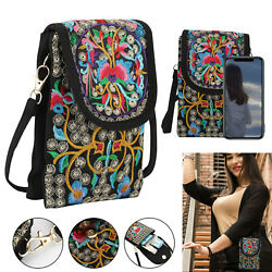 Touch Screen Phone Purse Mini Wallet Crossbody Shoulder Bag Case Pouch Fashion $10.97