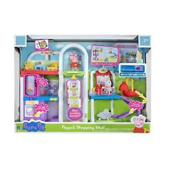 Peppa Pig Peppa#x27;s Shopping Mall Center Exclusive Playset Officially Licensed $59.95
