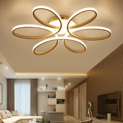 Acrylic LED Ceiling Light Fixture Flower Chandelier Lighting Modern Pendant Lamp $99.00