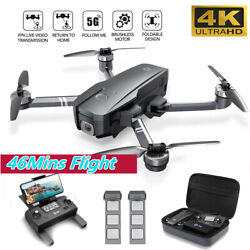 Holy Stone HS720 Foldable GPS Drone with 2K HD Camera Quadcopter Brushless Motor $189.99
