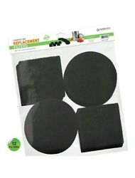 Housewares Solutions 12 Pieces Activated Carbon Filters Compost Bin Replacement $18.99