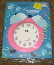 Blue#x27;s Clues Party Express Decoration Set Tickety Tock Slippery Soap Mailbox $9.50
