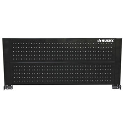 Husky 46 in. Pegboard Back Wall for Tool Cabinet Workbench Work Bench Peg Board $58.23