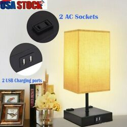 Bedside Table Lamp Nightstand Lamp for Bedroom with Daylight Color $35.99