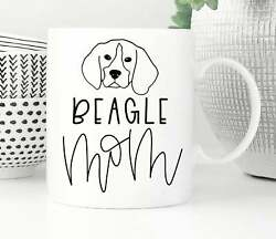Beagle Gift For Women Beagle Mom New Puppy Beagle Gifts Beagle Mug Beagle Coffee $12.99