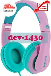 The Kids Headphones with Microphone On Ear for School PC iPad iPod $35.90