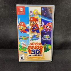 Super Mario 3D All Stars Nintendo Switch Physical Version BRAND NEW $74.95