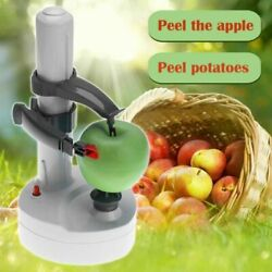 Electric Peeler Multifunction Fruit Vegetables Automatic Kitchen Cutter Machine $28.95