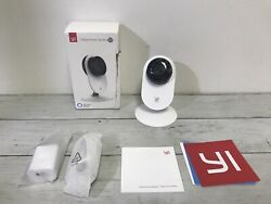 YI 1080p Home Camera Indoor Night Vision White $23.99
