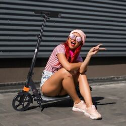 Adjustable Height Kick Scooter Foldable Scooter For Adult Kids Portable Ride US $59.98