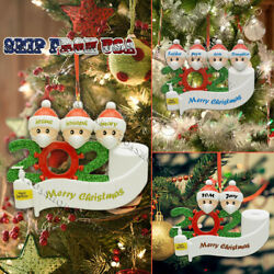 Personalized Family 2020 Christmas Hanging Ornament Xmas Santa Claus Gift US