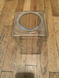 new replacement glass Globe For Ajax Hot Nut log cabin Machine $85.00