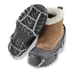 ICEtrekkers Strap On Ice Shoe Chains XL $12.50