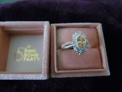 New w tag amp; bag Ring Bomb Party Size 10 VERSAILLES LORRAINE .925 SILVER RBP2598 $30.00