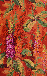HALF YARD Westminster Kaffe Philip Jacobs Fox Gloves Hot $29.72