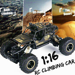 Large 4WD RC Car Monster Truck Off Road Vehicle Remote Control Christmas Gifts $31.19