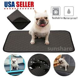 Pet Puppy Training Pee Pads Dog Washable Absorbent Odor Reducing Reusable S M L $11.88