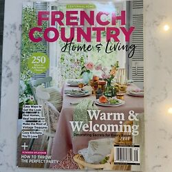 French Country Home amp; Living 2020 Magazine Decorating Secrets For Every Room New $4.97