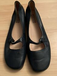 Women's black Nordstrom Mary Jane Wedge Size 8M shoes pump low heel $29.00