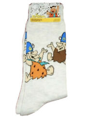New THE FLINTSTONES Mens Novelty Socks FRED amp; BARNEY AS GRAND POOBAH $5.99