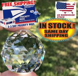 Set of 50 40mm High Quality 30% Lead Crystal Balls for Chandeliers Lighting $52.00