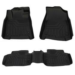 All Weather Floor Mats Liners for 2016 2020 Honda Civic Rubber Black 3PCS Set $63.85