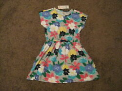 GYMBOREE NWT Girls Size 5 6 Multi Colored Flowered Dress SALE $3.99