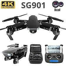 SG106 Drones With Camera HD 4K Dual Camera Optical Flow WiFi Video Helicopter RC $190.00