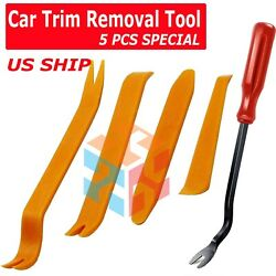 Auto Trim Removal Tool Kit Car Panel Door Window Clip Fastener Pry Dashboard Set $5.75