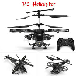 Electric RC Helicopter Aircraft Model Infrared Control Airplane Drone Toy Gift $73.59