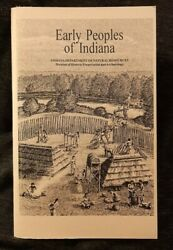 Early Peoples of Indiana by James R. Jones amp; Amy L. Johnson IN DNR $9.00