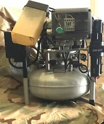 2006 JUN AIR 15 LITER 4 Gallon Quiet Medical Dental Compressor 1263 hrs. $495.00