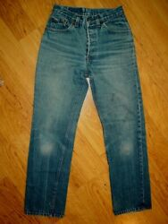 Vintage USA Made 80s LEVI#x27;S 501 For Women Button Fly High Waist Jeans 26 29.5 $94.99