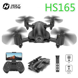 Holy Stone GPS RC Drones HS165 with 2K HD Camera Foldable FPV Quadcopters Case $183.98