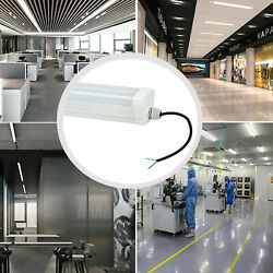 2Pcs 4Ft LED Light Fixture 40W Vapor Proof LED Light Commercial Lights 4500lm