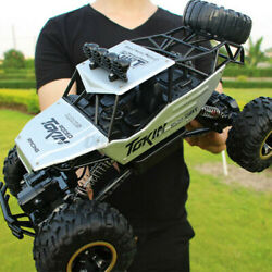 Electric RC Cars 4WD Monster Truck Off Road Vehicle 2.4G Remote Control Crawler $39.99