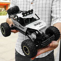 Electric RC Cars 4WD Monster Truck Off Road Vehicle Remote Control Crawler Green $46.99