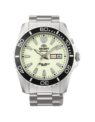 Orient Men#x27;s Mako XL Automatic Stainless Steel Diving Watch FEM75005R9 NEW $149.99